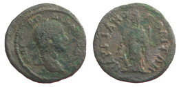 [H] +++ AE21 -- GORDIAN III. / Gordien III. -- Markianopolis -- Tyche ++ - 3. Röm. Provinz