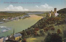 CPA ALLEMAGNE SCHLOSS STOLZENFELS Blick Auf Oberladnstein Glaser N° 6369 - Lahnstein