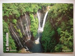 Carte Postale La Reunion - Takamaka -Les Chutes  ( Couleur Circulée ) - Saint Benoît