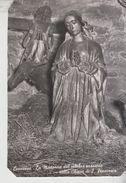 Leonessa Rieti La Madonna Del Celebre Presepio Nella Chiesa S. Francesco No Vg - Rieti