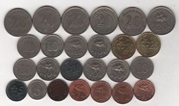 Malaisie - Lot De 25 Monnaies - D/519 - Malaysia
