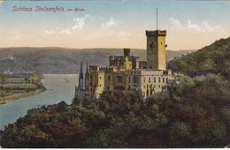 CPA ALLEMAGNE SCHLOSS STOLZENFELS Am Rhein Glaser N° 6368 - Lahnstein