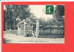 80 SAINT VALERY Sur SOMME Cpa Casino Entrée Du Garage               Edit Casino Grand Hotel - Saint Valery Sur Somme