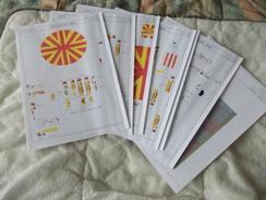 Lot De Documents En Rapport Avec Le Matériel Du Cirque Pinder Tours 2004 - Old Paper
