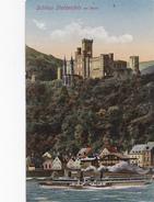 CPA ALLEMAGNE SCHLOSS STOLZENFELS Am Rhein Glaser N° 6372 - Lahnstein