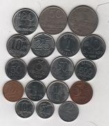 Brésil - Lot De 18 Monnaies - D/523 - Brazil