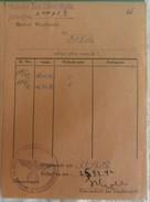 Document Kriegsmarine 1942 - Dokumente