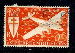 Saint Pierre Et Miquelon Y&T PA 4 ° - Poste Aérienne