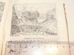 Silvretta Talschluss  Austria Print Engraving Gravour 1924 - Stiche & Gravuren