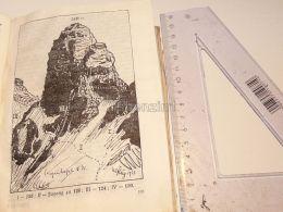 Silvretta Fergenkogel Suisse Print Engraving Gravour 1924 - Stiche & Gravuren