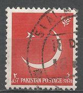 Pakistan 1956. Scott #83 (U) Crescent And Star - Pakistan