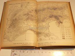 Alpen Alpes Regen Map Karte Pluie 1926 - Mapas