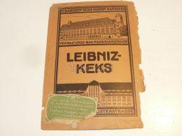 Leibinz Keks H. Bahlsens Keks Fabrik Hannover Germany Esperanto Leipzig 1914 - Schokolade