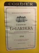 6474 - Château Le Guardera 1982 - Bordeaux