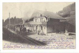 19062 - Chemin De Fer Yverdon Ste-Croix Gare De Six Fontaines  Train - VD Vaud