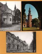3 Cp - Abdij Postel - Romaanse Kerk - Voorgevel - Monument Verklaarde Beiaardtoren 1610 In Vlaamse - Norbertijner - NELS - Mol