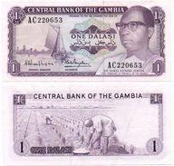 Gambia - 1 Dalasi 1971 Pick 4f XF Lemberg-Zp - Gambia