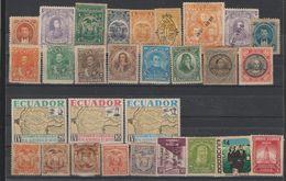 EQUATEUR  /ECUADOR  Lot Mint Hinged    Réf  K 17 T - Ecuador
