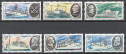 USSR 1979 Sol# 5024-29** RESEARCH SHIPS - Ongebruikt