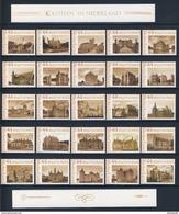 Nederland Netherlands Pays Bas 2009 Persoonlijke Postzegels TNT - Dutch Castles / Nederlandse Kastelen / Schlösser - Kastelen