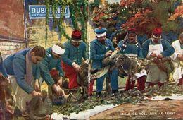 VEILLE DE NOËL SUR LE FRONT - 1914-18