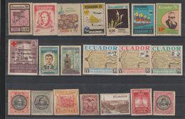 EQUATEUR  /ECUADOR  Lot Mint Never Hinged  **MNH   Réf  K 18 T - Ecuador
