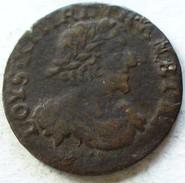 DOUBLE TOURNOIS LOUIS XIII 1639 TTB PORTRAIT AXE LOIRE RHONE - 987-1789 Monedas De La Realeza