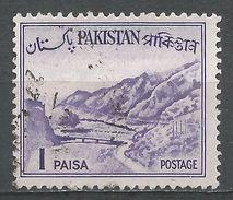 Pakistan 1961. Scott #129 (U) Khyber Pass - Pakistan