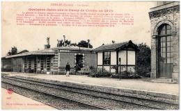 72 CONLIE - La Gare - Conlie