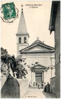 38 VAUX-MILIEU - L'église - France