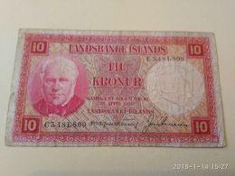 10 Kroner 1928 - Islande