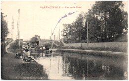 54 VARANGEVILLE - Vue Sur Le Canal - Other Municipalities