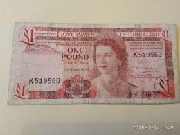 1 Pound 1979 - Gibraltar