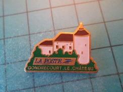 PIN512F Pin's Pins / Belle Qualité Et TB état !!!! :   LA POSTE GONDRECOURT LE CHATEAU  Marquage Au Dos : -  - - Mail Services