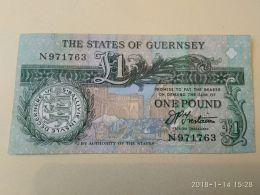 1 Pound 1991 - Guernsey