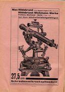 1940 TOPOGRAPHIE GÉOMÈTRE SURVEYING GÉODÉSIE GEODESY Zeitschrift Für Vermessungswesen Theodolit Théodolite Theodolite - Technique