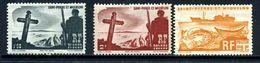Saint Pierre Et Miquelon 3 Timbres * Et  (*) - St.Pierre Et Miquelon