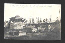 MONTMORENCY - QUÉBEC - (KENT HOUSE) - PREMIER ZOO QUÉBÉCOIS EN 1907 - LA GARE DU KENT HOUSE ET LE JARDIN ZOOLOGIQUE - Chutes Montmorency