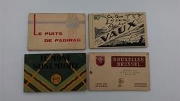 LOT DE 4 CARNETS - Cartes Postales