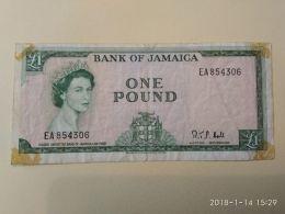 1 Pound 1960 - Giamaica