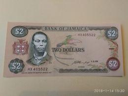 2 Dollars 1993 - Jamaica
