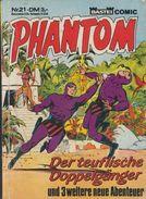 Phantom Taschenbuch Nr. 21 - Bastei Verlag - Abenteuer-Comic - Livres, BD, Revues