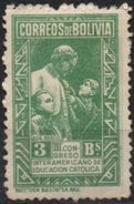 Bolivia 1948 * CEFIBOL 486a. Variedad Punto En Linea De Botones. Don Bosco. See Desc. - Bolivia