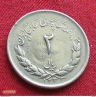 Iran 2 Rials 1954 / 1333 KM# 1158  Irão Persia Persien - Iran