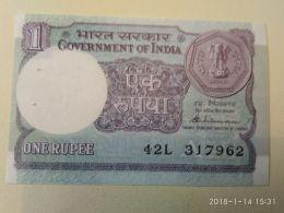 1 Rupia 1986 - India