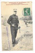 MANOEUVRES Du BOURBONNAIS - 1909 - Le Général TREMEAU -   -  L 1 - Manoeuvres