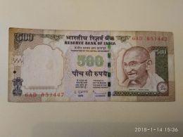500 Rupie 2010 - India