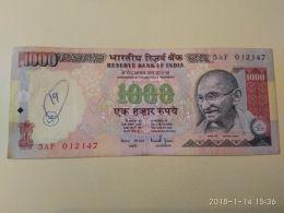 1000  Rupie 2010 - India