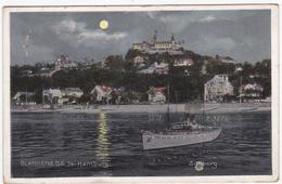 CPA ALLEMAGNE HAMBURG BLANKENESE De Nuit Süllberg Bateau Circulée 1913 - Blankenese