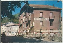 """Ferrières-Saint-Mary-L'Hôtel-Restaurant """"Loustalou"""" (Très Légère Corne D'angle Haut à Gauche,voir Scan) (CPM) - France"""